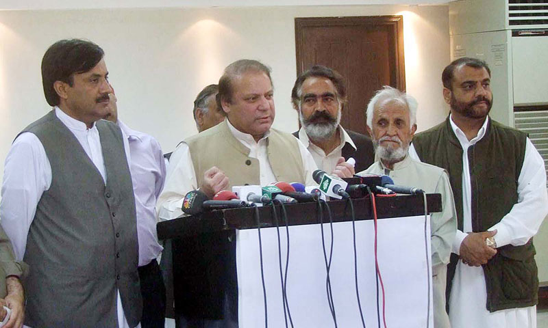 Pakistan Muslim League-Nawaz (PML-N) Chief Nawaz Sharif. — File Photo