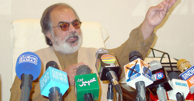 Balochistan Chief Minister Nawab Ghous Bakhsh Barozai.— File Photo
