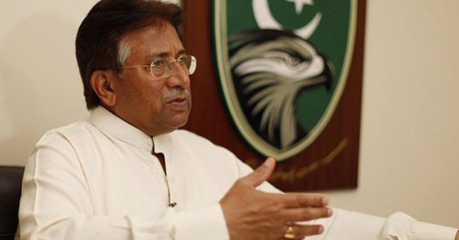General Pervez Musharraf. -File photo