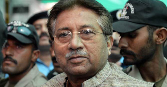 Former President Pervez Musharraf.— File Photo