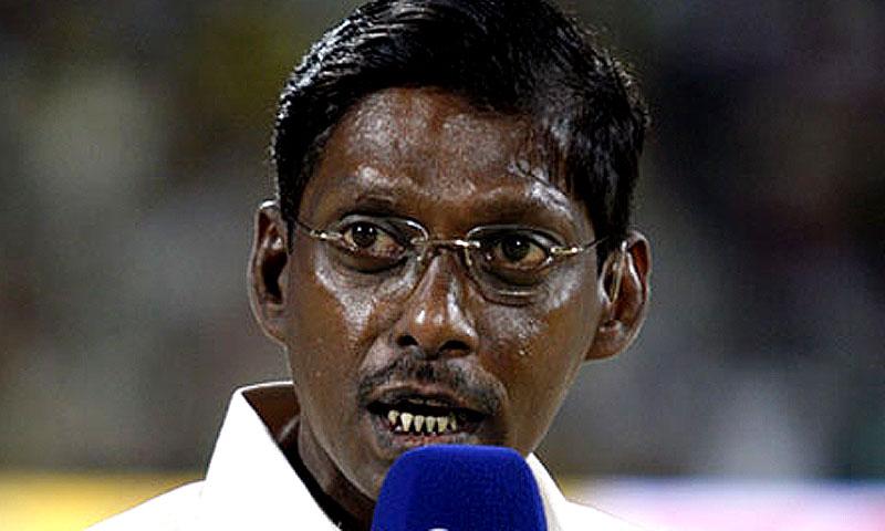 Laxman Sivaramakrishnan. -Photo courtesy BCCI