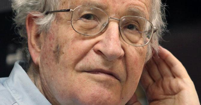 Noam Chomsky. — Photo by AFP/File
