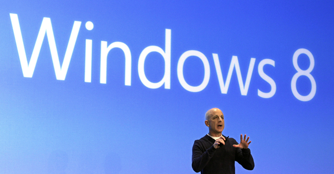 Microsoft announced it is preparing an update to Windows 8 for release later this year. It says the changes are designed to address complaints and confusion with the new operating system. — AP Photo