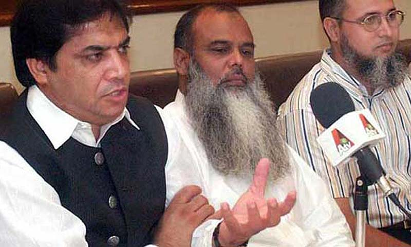 PML-N candidate for NA-56 Hanif Abbasi. — File photo