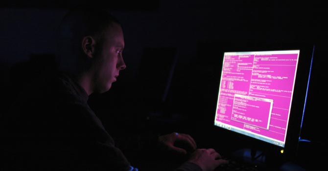 Cybersecurity. — Reuters Photo
