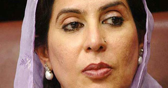 Dr Fehmida Mirza.—File Photo