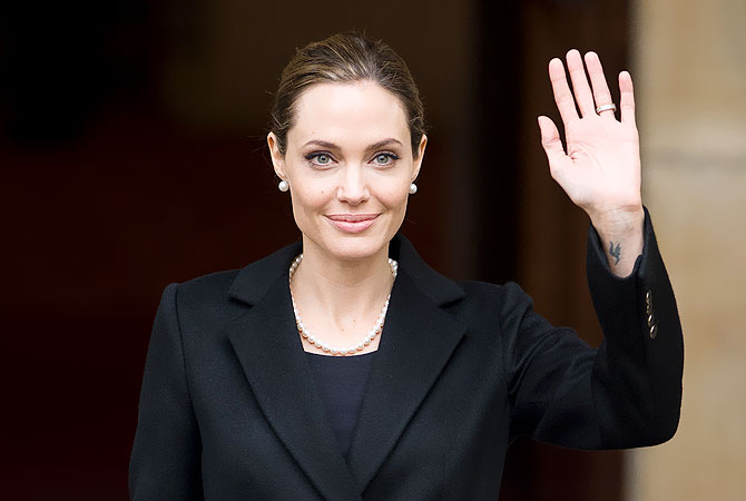 Angelina Jolie.–AFP (file) Photo