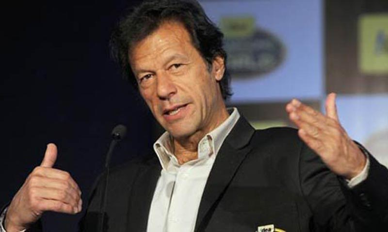 Pakistan Tehrik-i-Insaf chief Imran Khan. — File Photo