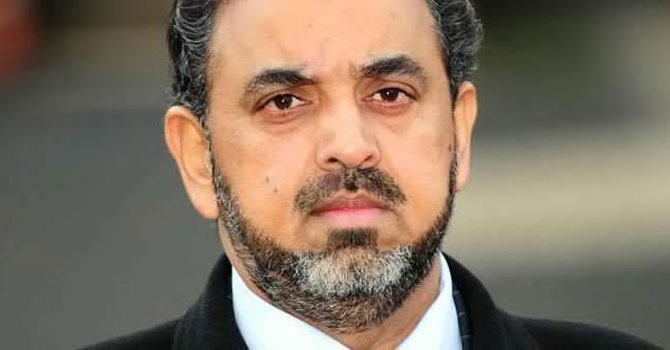 File photo shows Lord Nazir Ahmed.—Photo by AP