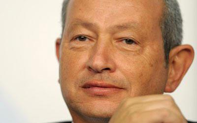 Egyptian telecoms tycoon Naguib Sawiris. —AFP (File) Photo