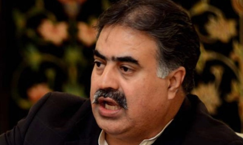 Sanaullah Zehri.  — File Photo.
