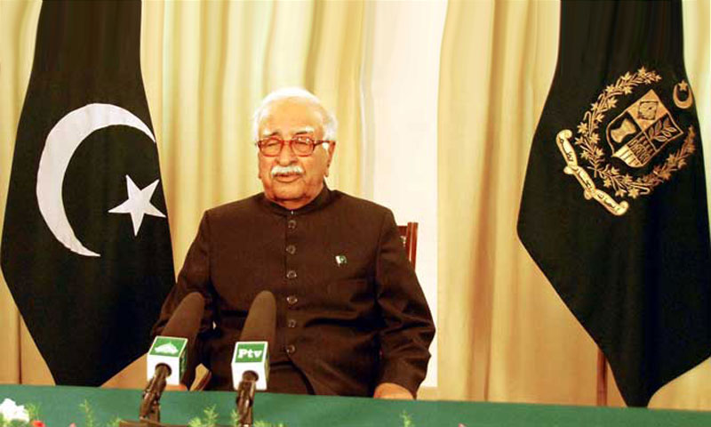 Caretaker Prime Minister Mir Hazar Khan Khoso.—File Photo