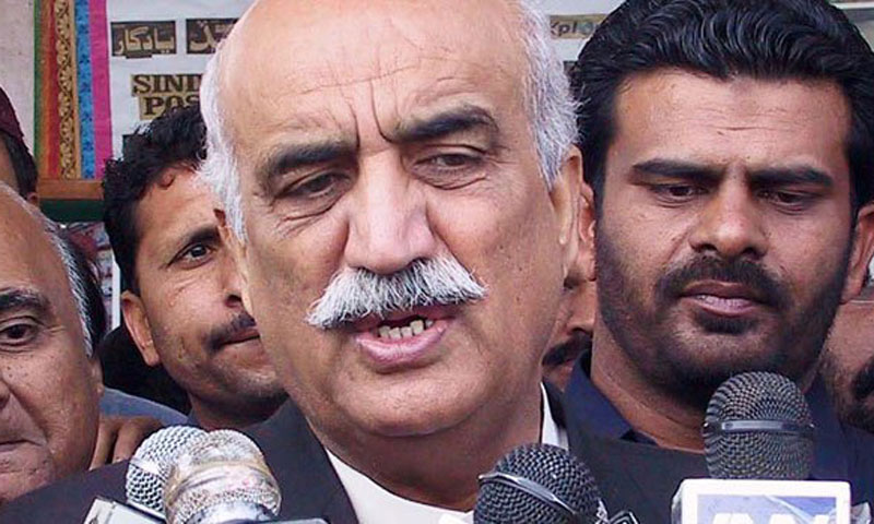 PPP leader Syed Khurshid Shah.—File Photo
