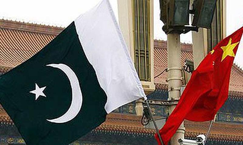 Pakistan-China flags.—File Photo