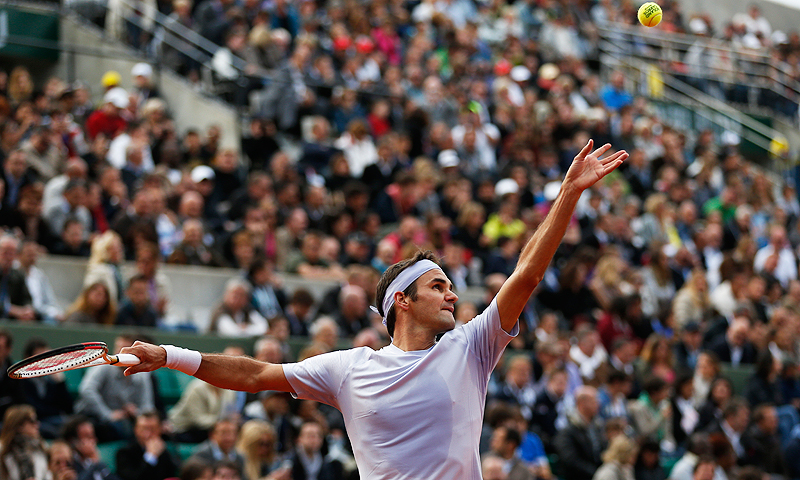 Roger Federer. -Photo by AFP