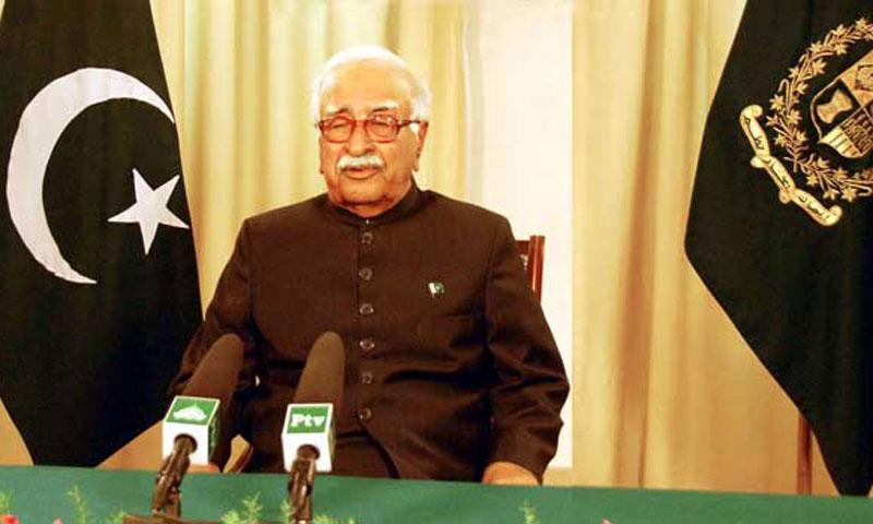 Caretaker Prime Minister Justice (retd) Mir Hazar Khan Khoso.—File Photo