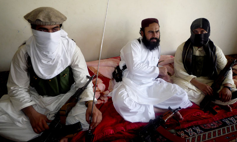 In this July 28, 2011 file photo, Taliban No 2 commander  Waliur Rehman talks to the Associated Press during an interview in Shawal area of South Waziristan along the Afghanistan border in Pakistan. — AP Photo.
