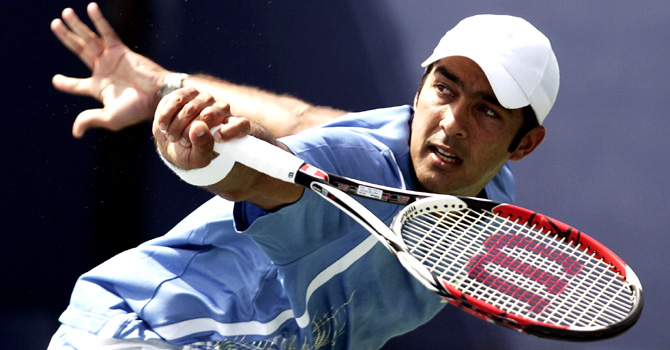 Pakistani Tennis star Aisamul Haq Qureshi. – File Photo by Reuters