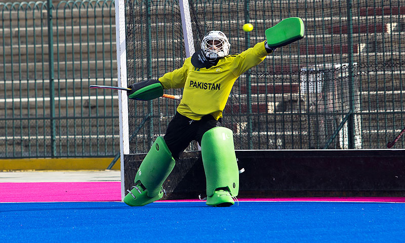 Shahnaz reckoned it would be relatively easier for Pakistan to qualify for the World Cup in the WHL rather than qualifying for the same in the Asia Cup. -Photo by Sara Faruqi/Dawn.com