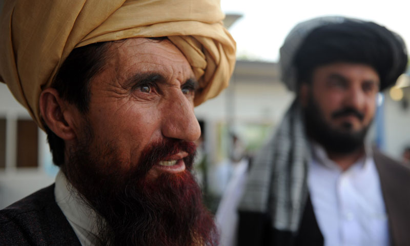 Pakistani tribesman Mohammad Nazir, the victim of a US drone attack, speaks to AFP in Islamabad on June 6, 2013. – AFP Photo