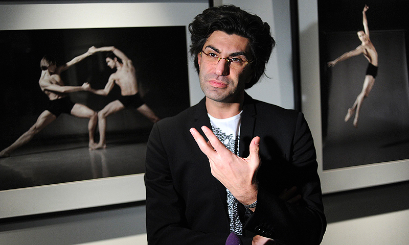 Bolshoi Theatre's principal dancer Nikolai Tsiskaridze speaks to the media during an exhibition opening in Moscow in this December 7, 2012 file photo. — Reuters Photo