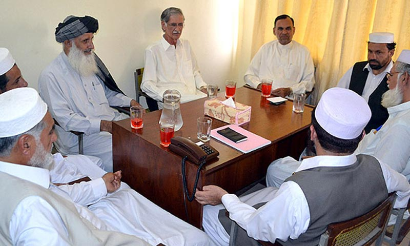 The PTI is already facing internal wrangling over the distribution of ministries among its MPAs and a tussle with Jamaat-i-Islami over the issue of Education Ministry. -File Photo