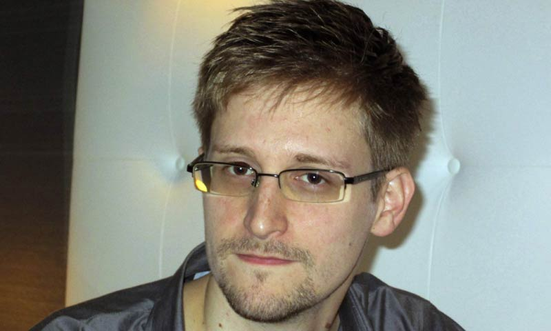 US National Security Agency whistleblower Edward Snowden, an analyst with a US defence contractor, is pictured during an interview with the Guardian in his hotel room in Hong Kong June 9, 2013. - Reuters