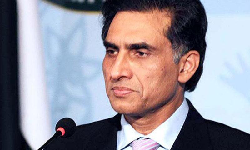 Foreign Office spokesman Aizaz Chaudhry.—File Photo
