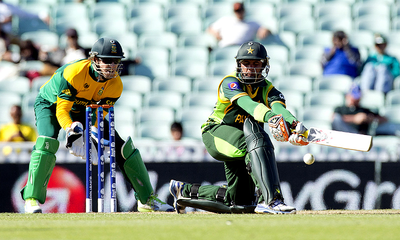 It is a mistake to over-analyse Pakistan's failure in this year's Champions Trophy. The simple explanation is that the wrong batsmen were selected. -Photo by AP