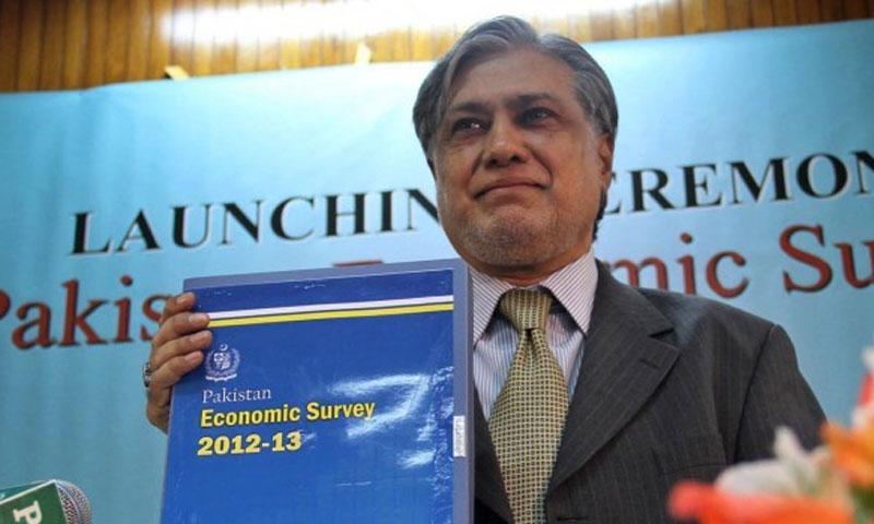 Finance minister Ishaq Dar.—File Photo