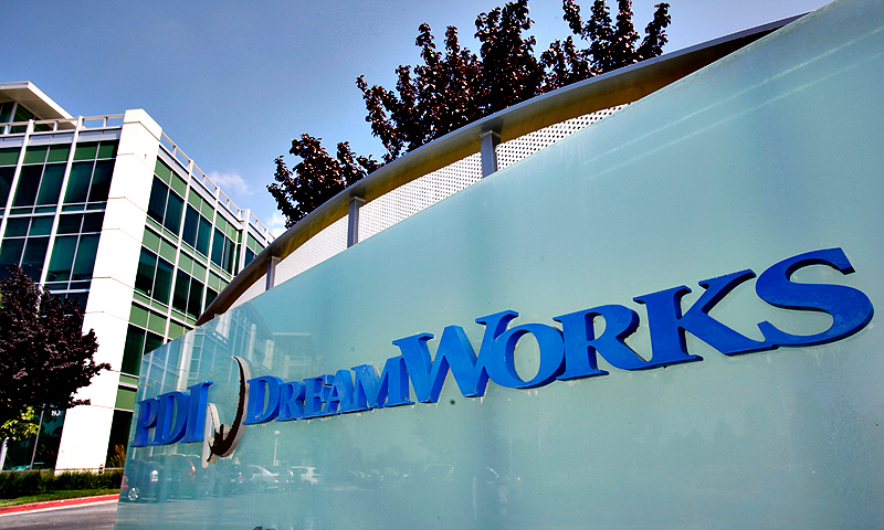 In this Monday, July 26, 2010 file photo, DreamWorks offices are shown in Redwood City, Calif. — AP Photo