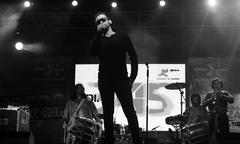 Farhad Humayun performing with Overload. — Courtesy Photo