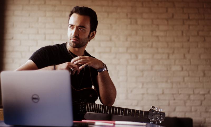 Farhad in Dell Ultrabook Campaign. — Courtesy Photo