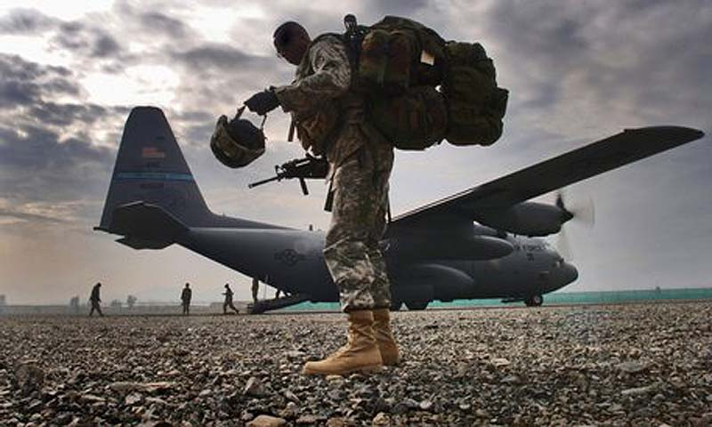 Bagram air base.  — File Photo