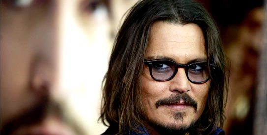 Johnny Depp. — File Photo