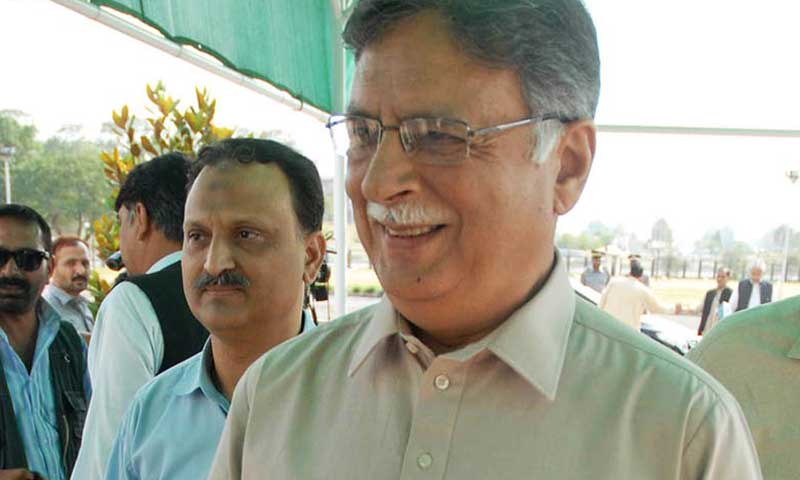 Information and Broadcasting Minister Senator Pervaiz Rashid.—File Photo