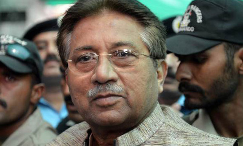 Former President Pervez Musharraf.—File Photo