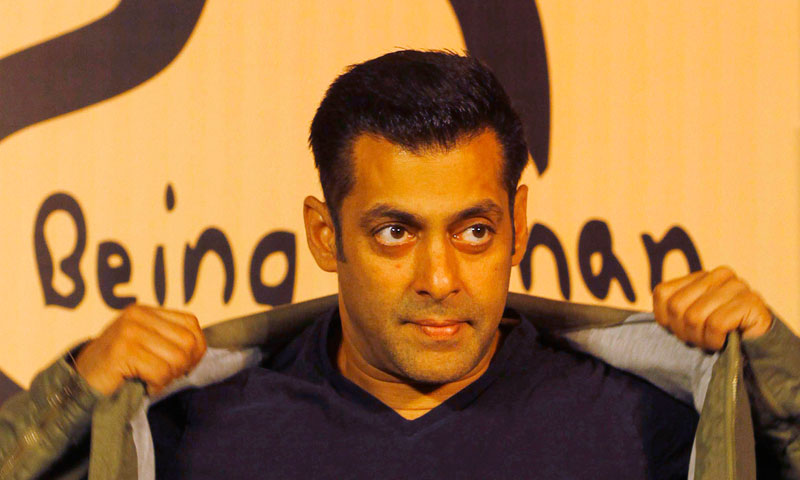 A Mumbai court has ruled that Indian movie star Salman Khan, who is one of Bollywood's biggest stars, will be tried for homicide for his alleged involvement in a fatal road accident more than 10 years ago.—Photo by AP