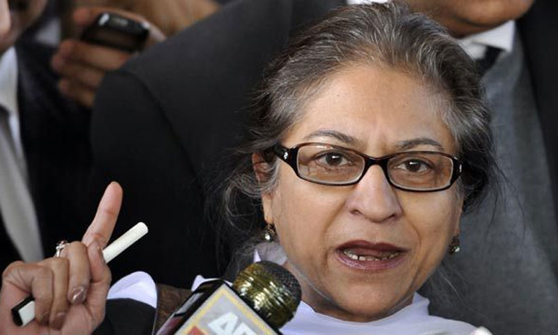 Renowned human rights activist and HRCP member Asma Jehangir.—File Photo
