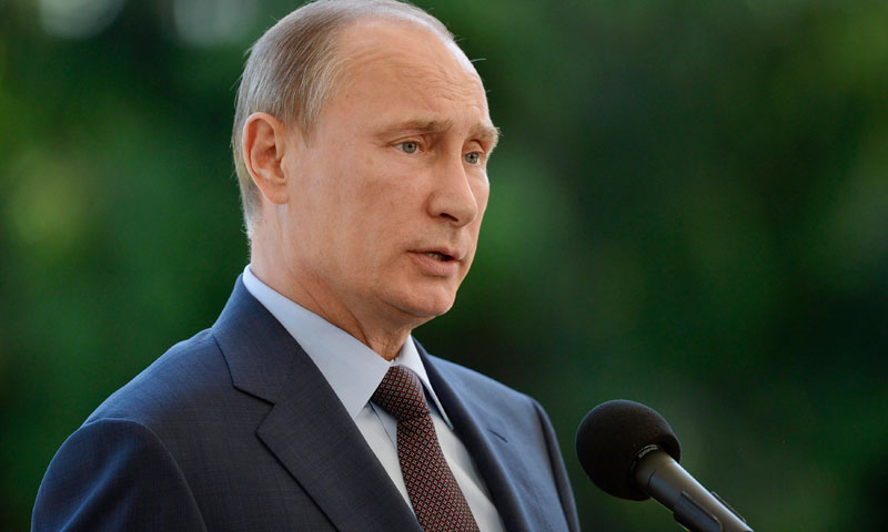 """""""Mr. Snowden is a free man, the sooner he selects his final destination point, the better for us and for himself,"""" said Vladimir Putin. - Reuters file photo"""