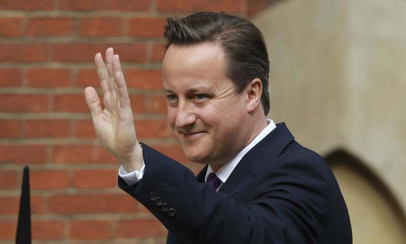British Prime Minister David Cameron. — Photo Reuters