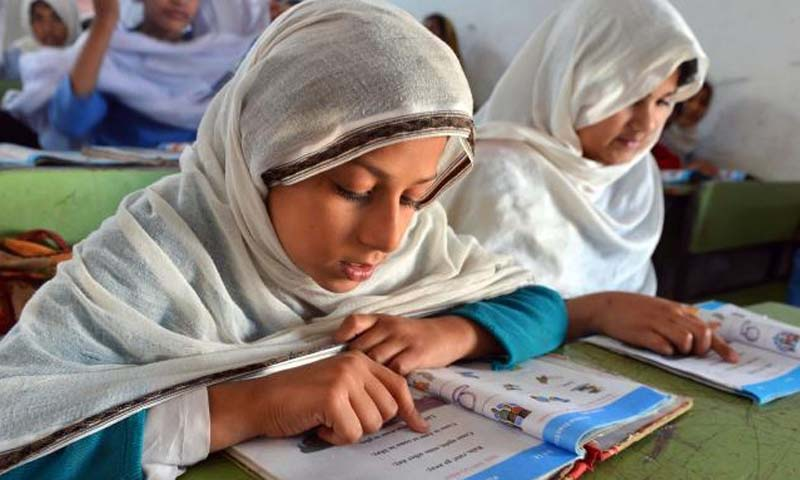 In its annual report, the Society for the Protection of the Rights of the Child (Sparc) said about one fourth of the 19.75 million children in Pakistan aged five to nine were out of school — Photo AFP