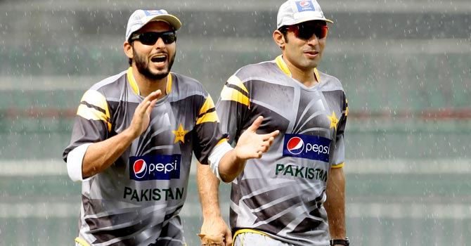 Shahid Afridi is expected to make a comeback for the series against the West Indies. -File photo