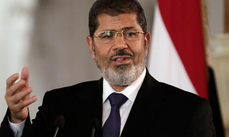 Egyptian President Mohammed Morsi.—File Photo