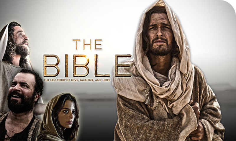 The Bible TV series poster. — Courtesy Photo