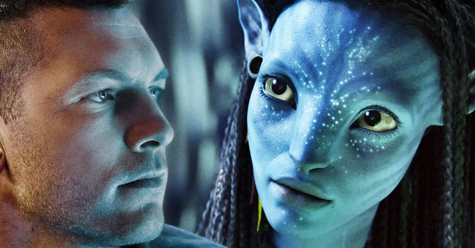 Sam Worthington and Zoe Saldana in Avatar. —Reuters (File) Photo