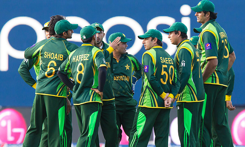 Pakistan's national team suffered a humiliating exit from the elite eight-nation Champions Trophy in England last month. -Photo by AP