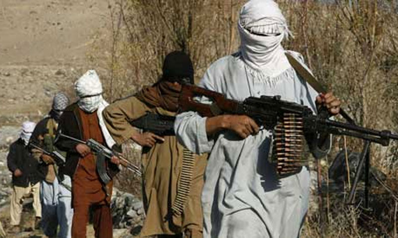 """Karimi accused Pakistan of closing down madrassa schools that serve as incubators of extremism and as a result had """"unleashed"""" the Taliban on Afghanistan today.—File Photo"""