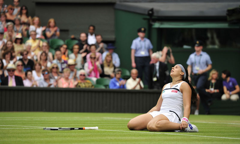 Bartoli came through in straight sets, making her second Wimbledon final