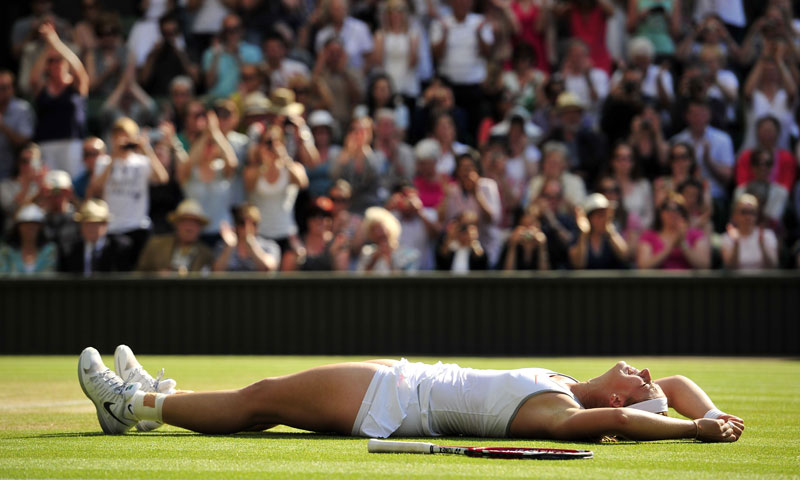 Eventually, it was Lisicki who came through, 9-7 in the last, booking a final date with Marion Bartoli